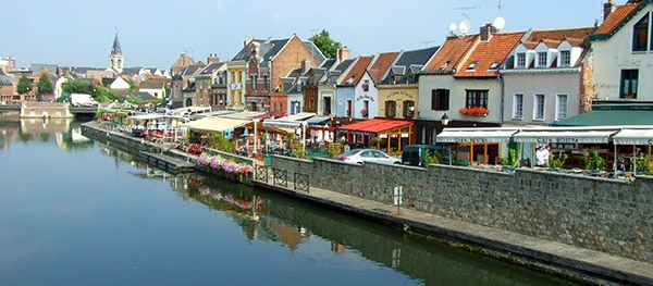 Rommelmarkt van Amiens
