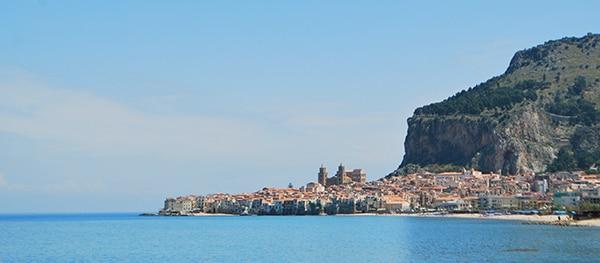 Cefalu Rens Sicilië
