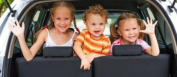 Autoreis met kinderen