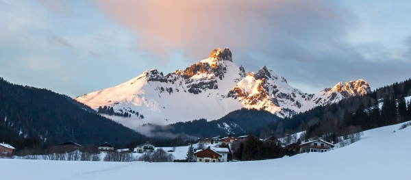Steiermark winterlandschap