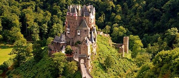 Kasteel in de Eifel Duitsland