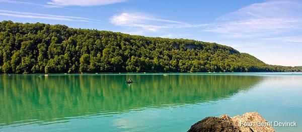 Lac de Chalain Frankrijk
