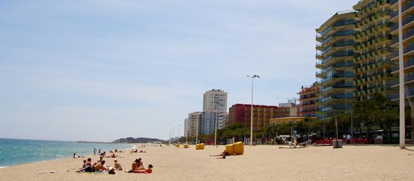 Platja d'Aro aan de Costa Brava