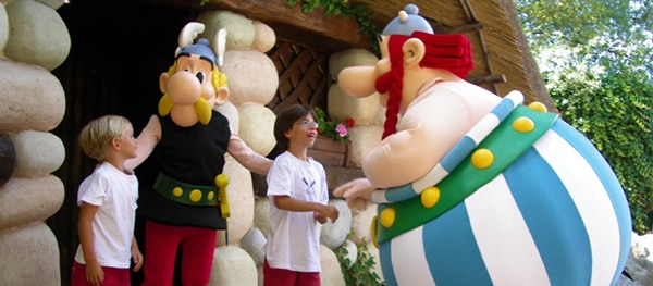 Parc Asterix in Plailly