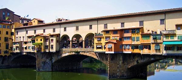 Ponte Vecchio in Florence Italië