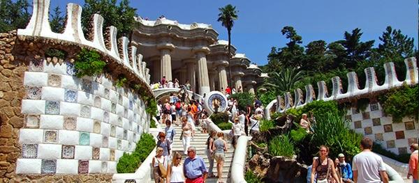 Parc Guëll in Barcelona