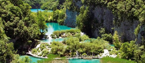 Plitvicemeren Kroatië