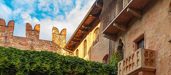 Verona, die Stadt von Romeo und Julia