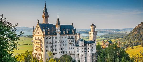 Schloss Neuschwanstein in Schwangau Duitsland