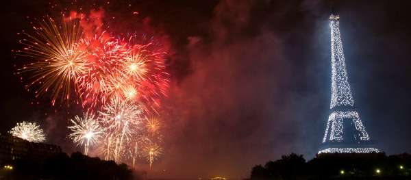 Vuurwerk Quatorze julliet