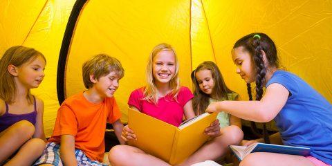 Leuke kampeerverhalen voor kinderen