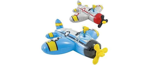 Vliegtuig met waterpistool