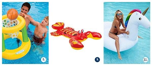Het tofste opblaasbare speelgoed voor kinderen in het zwembad for Zwembad aanschaffen