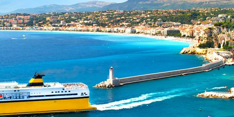 Kamperen en flaneren aan de Côte d'Azur