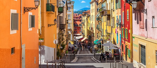 Oude centrum van Nice