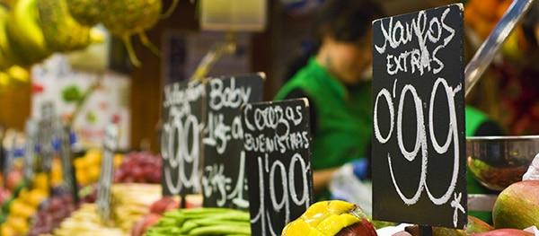 Mercado de las Riber del Ter in Girona