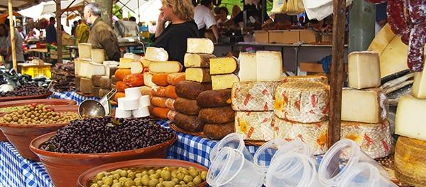 Market in Tordera