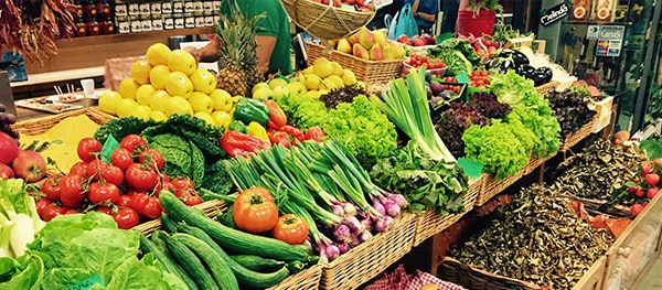 Markten in Italië - Markthal in Florence