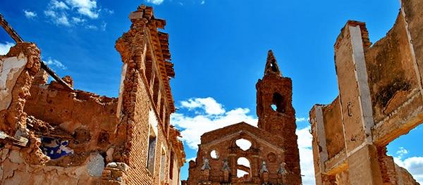 Belchite, Spanje