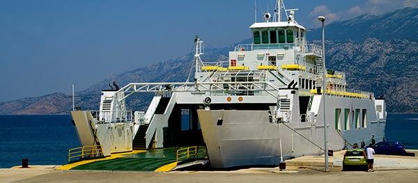 Een overtocht met een ferry