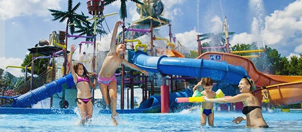 Waterparadijs Camping Terme Catez in Slovenië