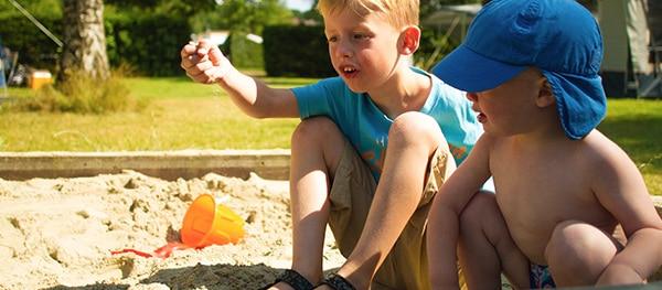Op kampeervakantie met kleine kinderen