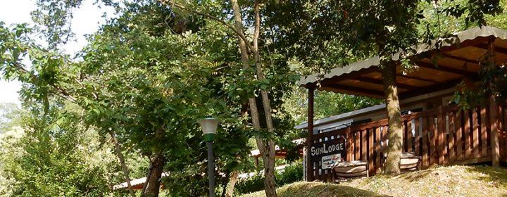 Evaringen: SunLodge Maple op camping Barco Reale