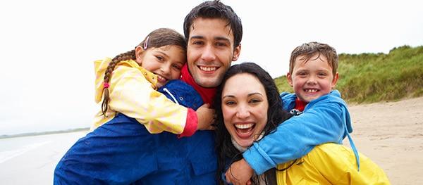 Kamperen met het hele gezin