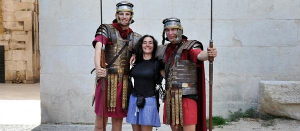 Straatartiesten in Rome