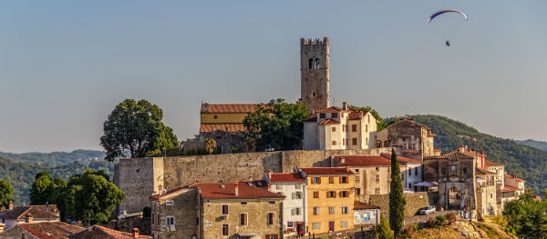 Sights in Istria: Motovun