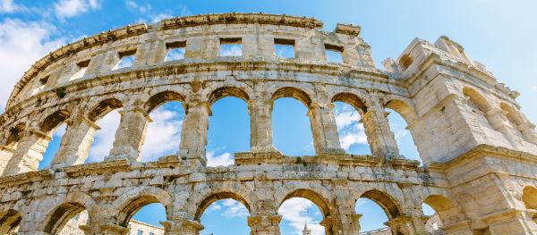Bezienswaardigheden in Istrië: Amfitheater van Pula