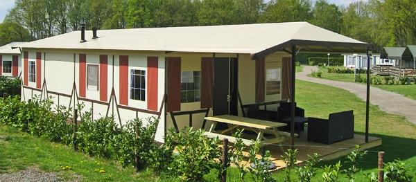 Vakwerktent - Unieke accommodatie op Camping Roland