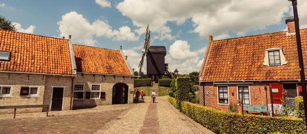 Vestingstad Bourtange in Groningen
