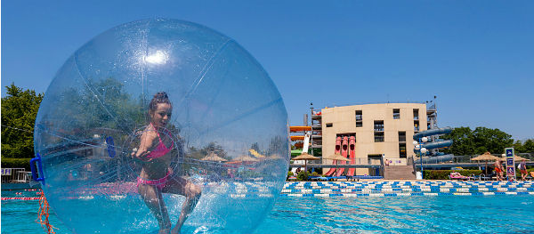 There's lots of things to do for kids at Campsite Terme Putj.