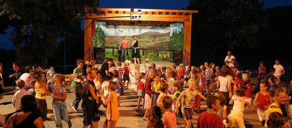 Evening show for the children