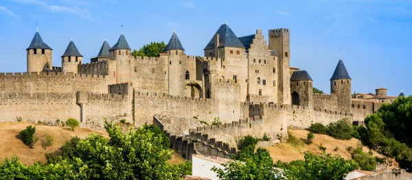 Der beeindruckende mittelalterliche Stadtkern von Carcassonne: La Cité de Carcassonne