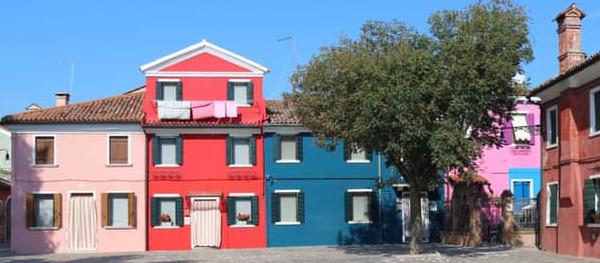 Het kleurrijke eiland Burano