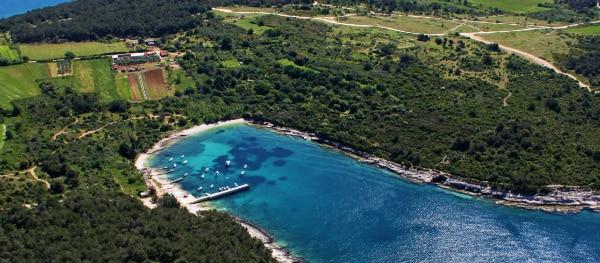 Cape Kamenjak in Istrië