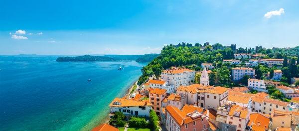kust Slovenië