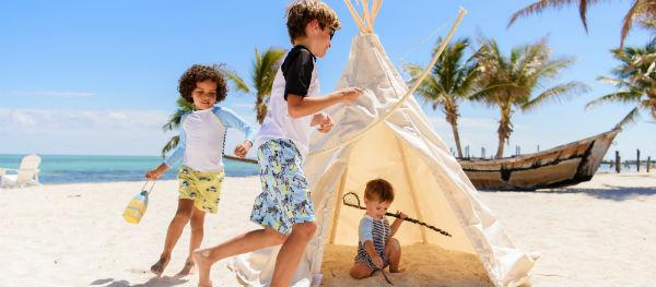 Bescherm kinderen extra goed tegen de zon