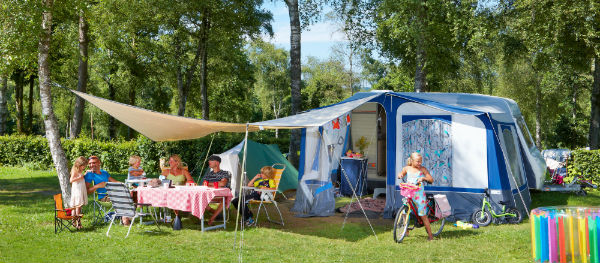 Extra bonus for campers: holidaying outdoors