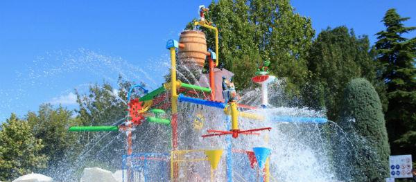 Waterattracties op Camping Bella Italia