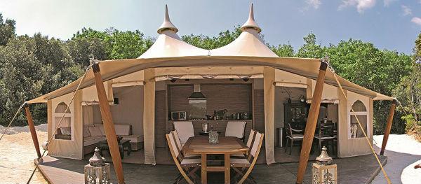 De SunLodge RoyalLodge op Camping La Vallee Verte
