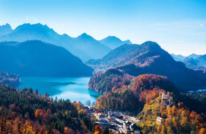 Uitzicht vanaf Neuschwanstein