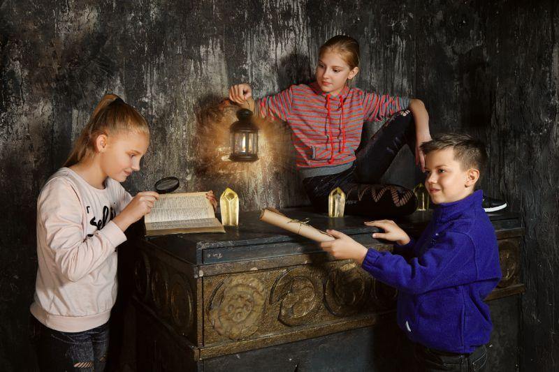 Escaperoom voor kinderen