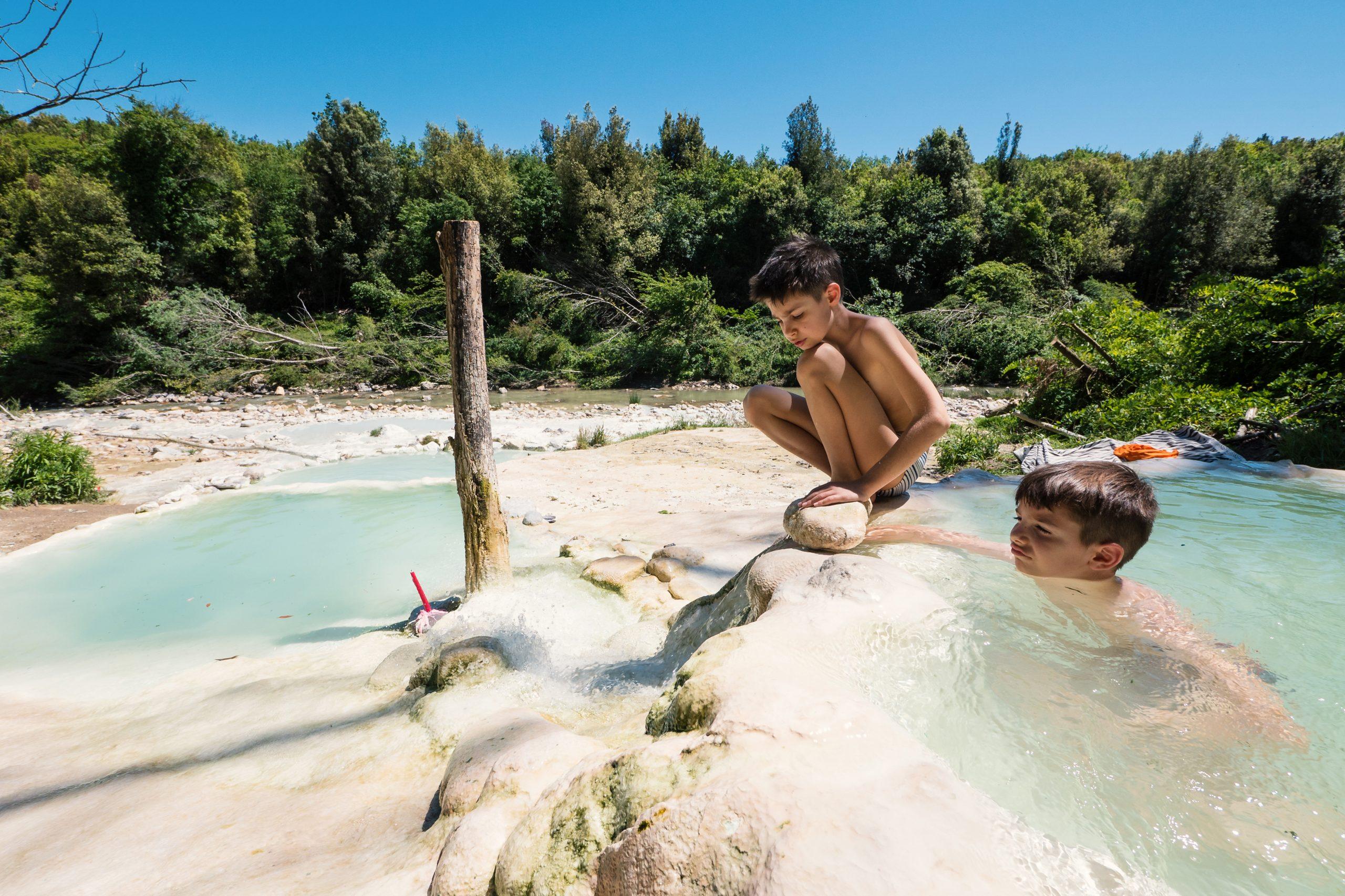 Warmwaterbronnen Italië natuur