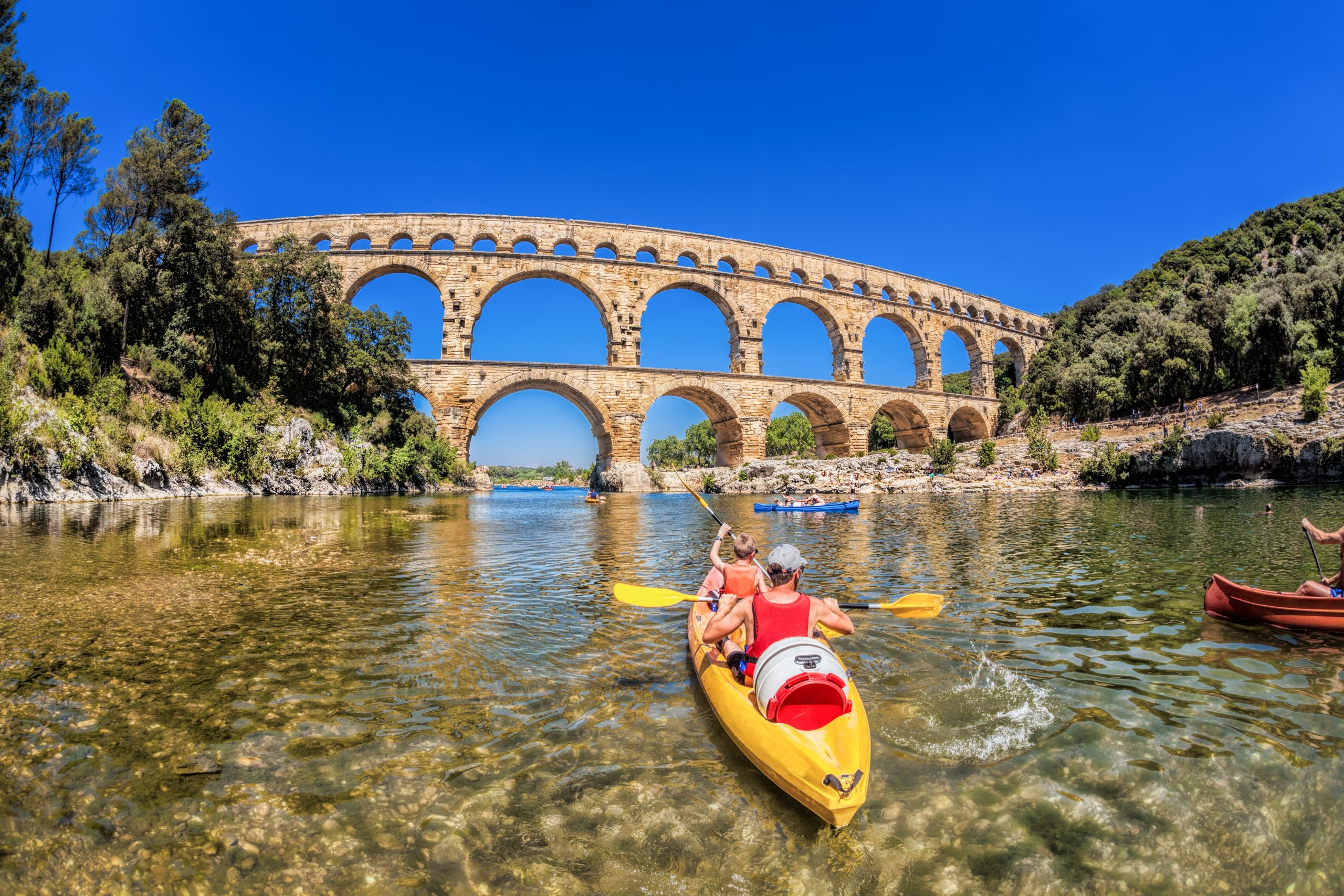 Pont du Gard natuur