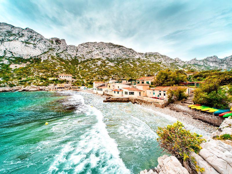 1 van de 5 prachtige calanques in Zuid-Frankrijk