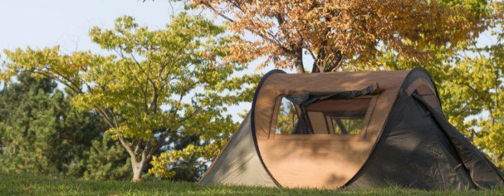 Kamperen in een tent, iets voor jou?
