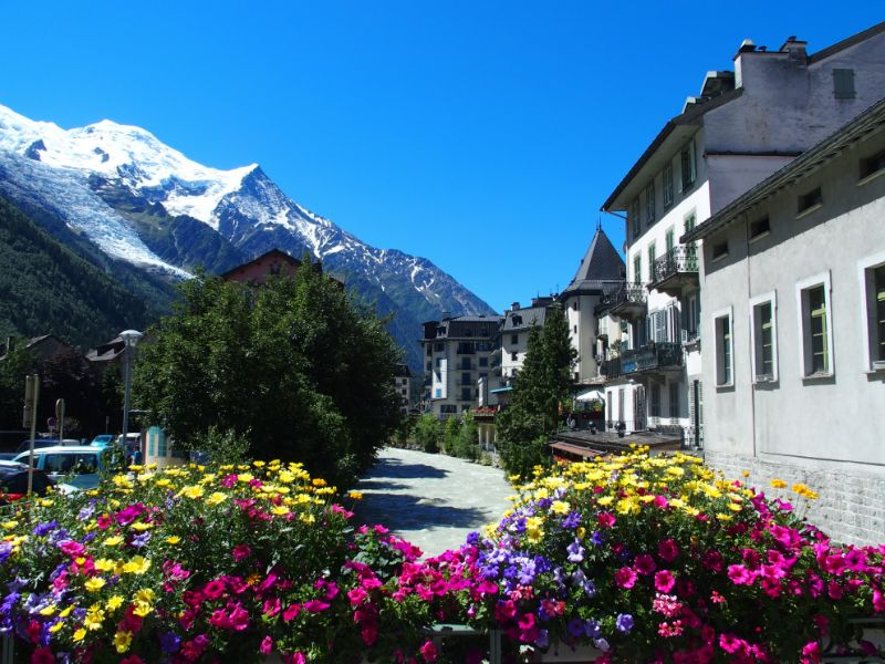Mont Blanc is Europe's most prominent mountain. Chamonix-Mont-Blanc has a cable car and a train that will take you up the mountain.